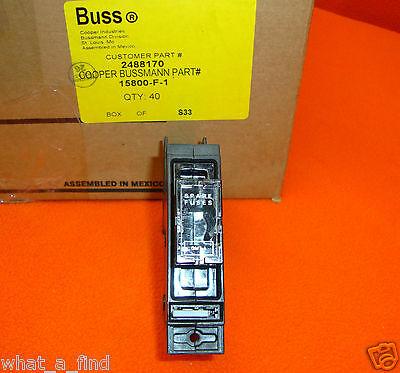 New Bussmann 15800-F-1 Fuse Holder TPS Buss Cooper 15800-F 15800 GMT