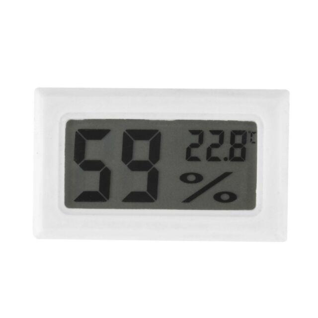 Mini Digital LCD Indoor Temperature Humidity Meter Thermometer Hygrometer AU