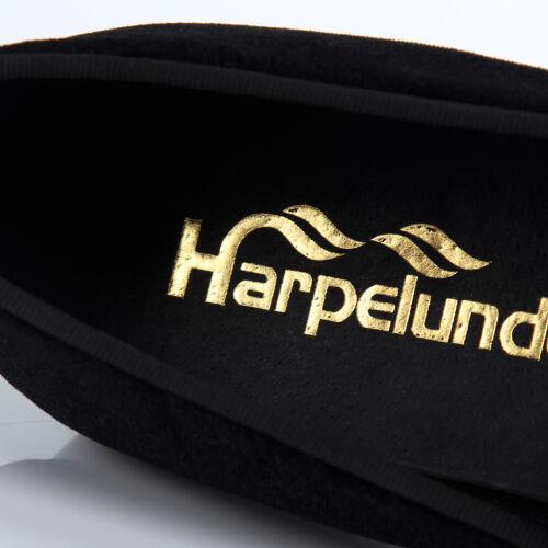Harpelunde Black Men Velvet Loafer Slippers Hot Sale Dress Shoes Size 6-14