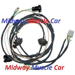 rear body panel tail light wiring harness chevy el image is loading rear body panel tail light wiring harness 64