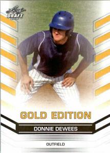 034-Raro-034-Donnie-Dewees-2015-Hoja-Draft-034-Oro-Edicion-034-Carta-Rookie