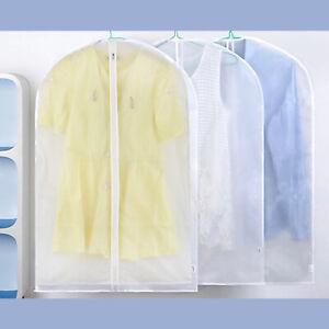 1-10x Kleidersack Kleiderschutz Schutzhülle PROFI schwarz Kleiderhülle