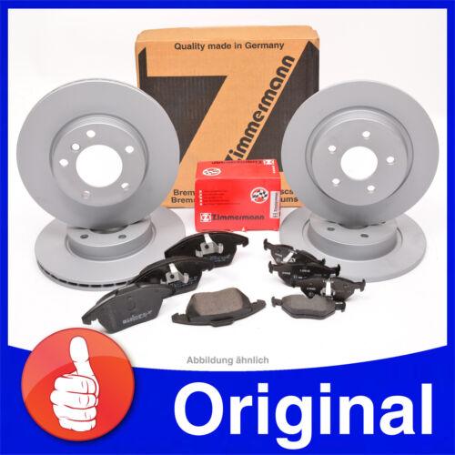 plaquettes de frein avant Zimmermann Disques de frein 300mm+302mm arrière FORD MONDEO IV