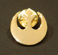 Classic Star Wars Rebel Alliance Gold Logo Cloisonne Metal Pin Small Version