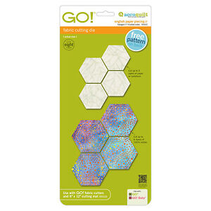 Accuquilt go baby cutting die english paper piecing for Ebay store template tutorial