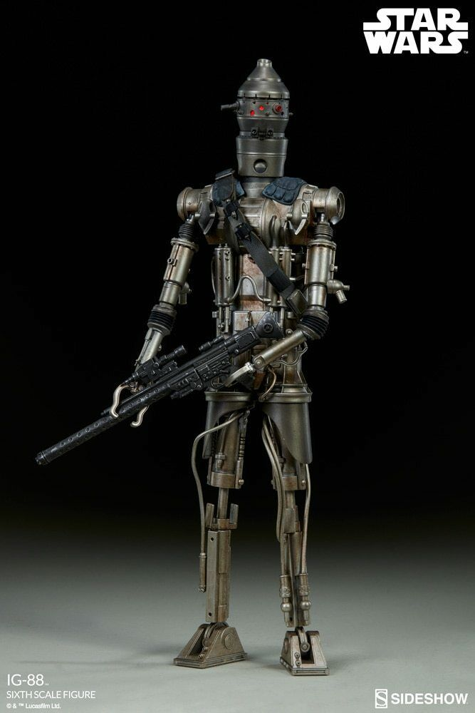 IG-88 Sixth Scale Figure by Sideshow Collectibles