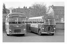 pt7595 - Lincolnshire Corporation Buses at Grantham - photograph 6x4