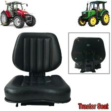 Lawn Garden Slidable Tractor Seat Riding Mower High Back Pvc Seat For Atv Utv