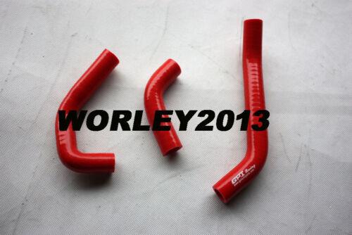 red hose for HONDA RS125 1987-1994 1988 1989 1990 1991 1992 Aluminum radiator