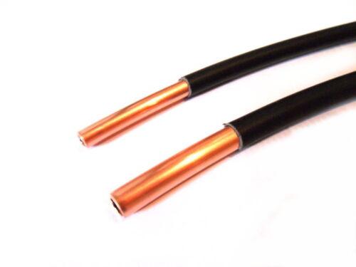CU006 Kupferleitung LPG Autogas Kunststoff ummantelt 6mm 6m Gasleitung Copper