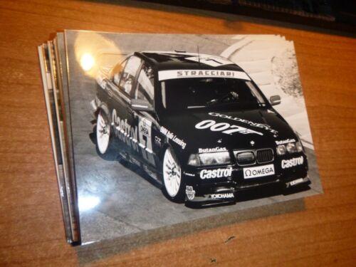 BMW  SUPERTURISMO  # 7 NASPETTI  press PHOTO /_  1990s Superturismo Championship