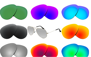 M4DL New Polarized Replacement Lenses compatible with RB3025