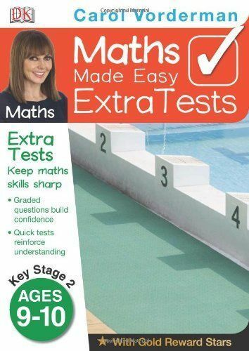 Maths Made Easy Extra Tests Age 9-10 (Carol Vordermans Maths Made Easy), Vorderm