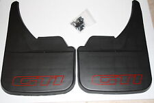 PEUGEOT 309 GTI  MUD FLAPS FRONT OR REAR RED.