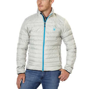 a0ae797122ba75 NWT Men's Grey Spyder Prymo Down Jacket Ski Size X-Large Free ...