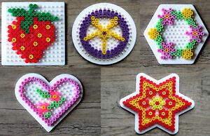 Spielzeug Bügelperlen Vorlage Herz Einzeln Hama Ansehen Top Bügelbilder