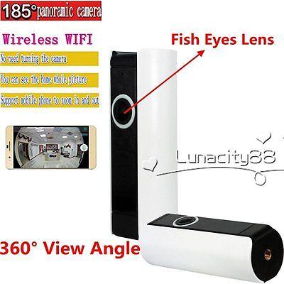 185° 360° View Lens HD 720P IP Camera Wireless Wifi Night Version Baby Monitor