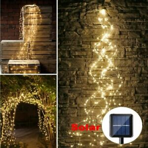 200-300-LED-Tree-Vine-Waterfall-String-Light-Copper-Wire-Fairy-Garden-Decor-Lamp