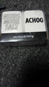 Image Is Loading Enesco Our Name Mud Salt And Pepper