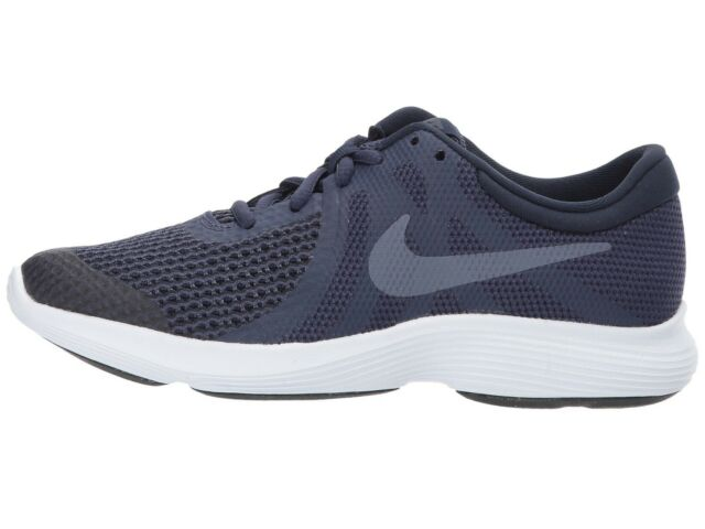 more photos 05215 62a14 Nike Kids Revolution 4 (GS) Running Shoes 943309 501 Neutral Indigo Light  Carbon