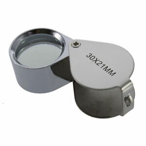 HOT-30-40X-Glass-Magnifying-Magnifier-Jeweler-Eye-Jewelry-Loupe-Loop-AW