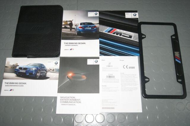 2016 Bmw M5 Sedan Owner Operator Manual User Guide Set 4 Manual Guide