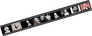 Marilyn-Monroe-Film-Strip-Room-Border-Self-Adhesive-Vinyl-aa157