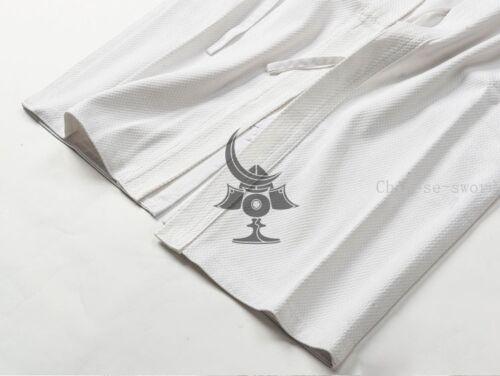 Cotton Kendo Aikido Hapkido Gi Martial Arts Uniforms  Laido Kimono Tops 3 color