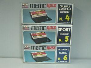 Polistil Electronics Mémo Quiz Base Mémoire E Livre N 4-5-6