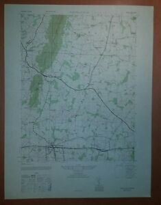 1940 S Army Like Usgs Topographic Map Purcellville Virginia Sheet