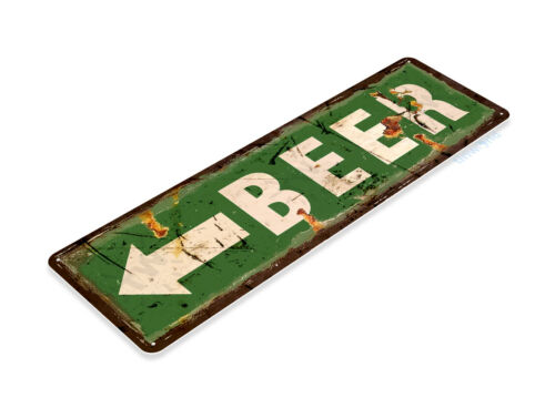 Arrow Bar Pub Sign Garage Cave Rustic Metal Tin Sign B402 Beer Sign