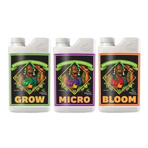 Advanced Nutrients Micro + Grow + Bloom Pack Ph Perfect 1l Fertilisant G