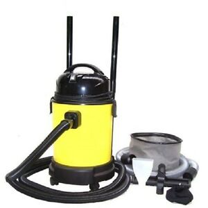 Automatic pond vacuum cleaner 1400w 25l koi fish pond pool for Pool pump for koi pond
