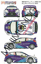 DECALS FORD FIESTA WRC RALLY RACC CATALUNYA 2013 AL-KUWARI 1/24 RACING DECALS 43