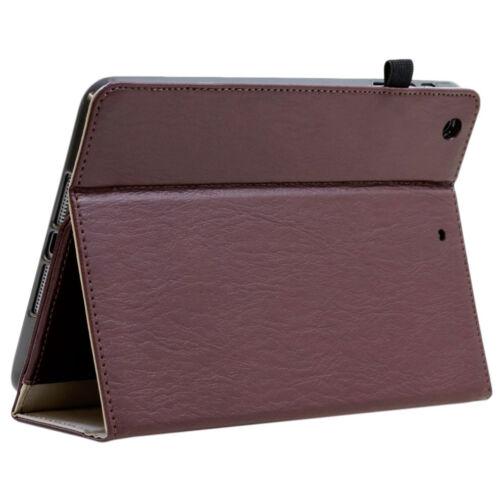 Pellicola Pelle Custodia Protettiva Apple iPad 2 3 4 Tablet Custodia Cover Case