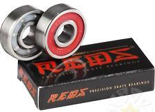 BONES - REDS Cuscinetti - 2 Pacco tavola lunga Skateboard MiniCruiser