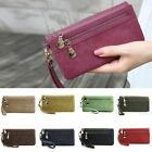 New Women Wallet Wristlet Lady Card Coin Holder Long Wallet Clutch Zipper Purse