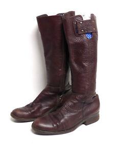 Gr Echtleder De Gant Braun Damen amp; 6048 Stiefel Leder 40 P qWwnFtHf