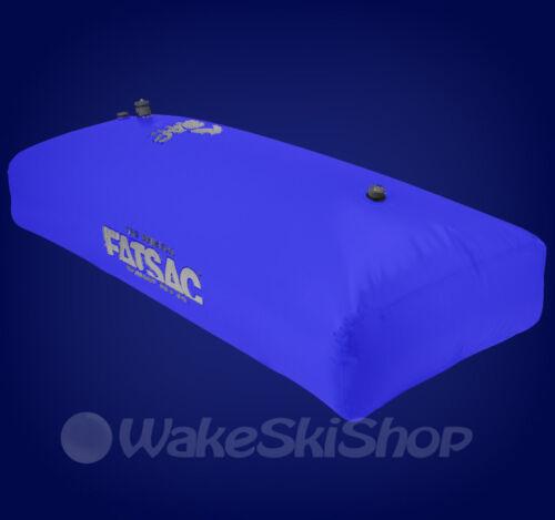 FLY HIGH FAT SAC REAR SEAT CENTER LOCKER SURF WAKE BOAT BALLAST BAG W705 BLUE