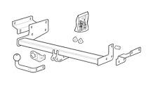 Fixed towbar swan neck Suzuki Swift 3//5-door 09.2010 onwards 13-pin el kit