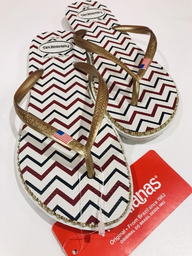 Havaianas Para mujeres mujeres mujeres Delgado Flip Flop Sandalias, Americana 39 40 BR 9 10 EE. UU.  alto descuento