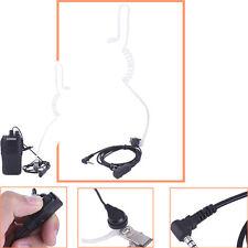 Police Earpiece Headset PTT Mic For Yaesu Radio Vertex VX-6R 5R Walkie Talkie