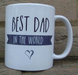 best dad in the world gift mug father s day gifts mugs personalised