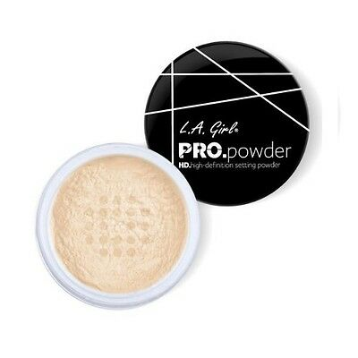 L.A. LA Girl Pro Powder HD High Definition Setting Powder Banana Yellow GPP920