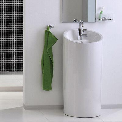 Säulenwaschbecken Waschtisch Keramik Standwaschbecken 40129