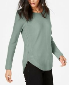 I-N-C-International-Concepts-Waffle-Knit-Side-Zip-Sweater-XX-Large-Size-Macy-039-s