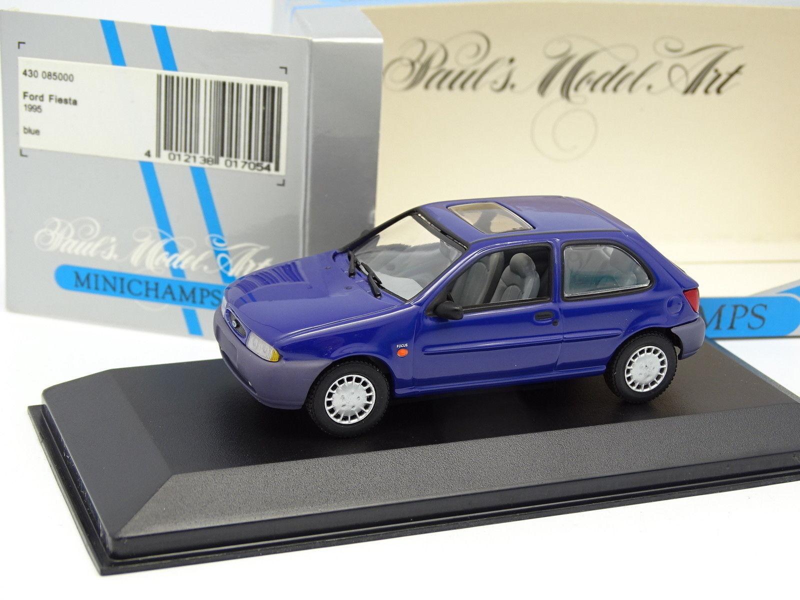 Minichamps 1 43 - Ford Fiesta 1995 Blu