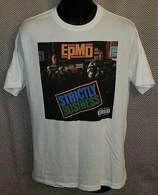 Authentic EPMD Strictly Business Album Cover Slim-Fit T-Shirt S M L XL 2XL NEW