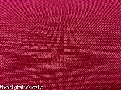 10MTR TOUGH WATERPROOF BURGUNDY CANVAS FABRIC MATERIAL AWNING COVER