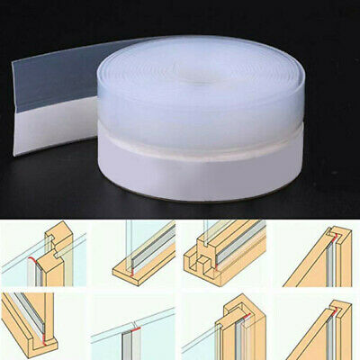 1M Door Seal Strip Bottom Self Adhesive Soundproof Weather Stripping For Window